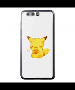 Pikachu - Huawei P10 Carcasa Transparenta Silicon