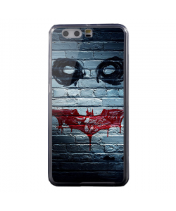 Batman/The Joker - Samsung Galaxy S3 Husa Flip Alba Piele Eco