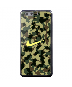 Camo Nike - Huawei P10 Plus Carcasa Transparenta Silicon