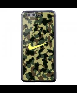 Camo Nike - Huawei P8 Lite Carcasa Transparenta Silicon