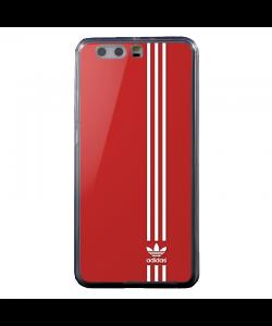 Red Adidas - Huawei P10 Carcasa Transparenta Silicon