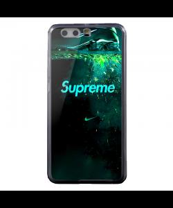 Nike X Supreme - Huawei P10 Plus Carcasa Transparenta Silicon
