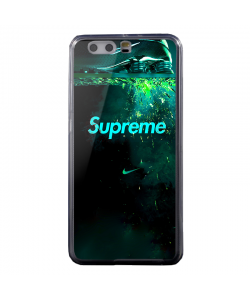 Nike X Supreme - Huawei P8 Lite Carcasa Transparenta Silicon