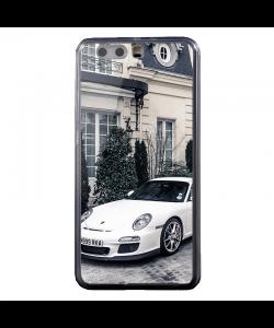 Porsche - Huawei P8 Lite Carcasa Transparenta Silicon