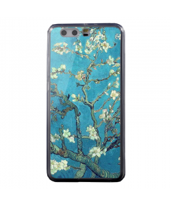Van Gogh - Branches with Almond Blossom - Huawei P8 Lite Carcasa Transparenta Silicon