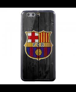 FC Barcelona - Huawei P8 Lite Carcasa Transparenta Silicon