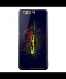 CS GO - Huawei P8 Lite Carcasa Transparenta Silicon