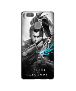 League of Legends Yasuo - Huawei P9 Carcasa Transparenta Silicon