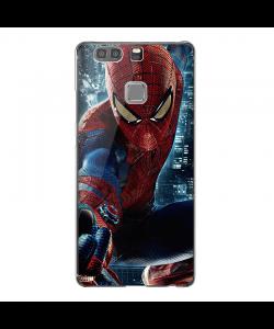 Spider Man - Huawei P9 Plus Carcasa Transparenta Silicon