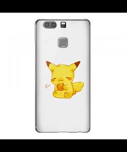 Pikachu - Huawei P9 Plus Carcasa Transparenta Silicon