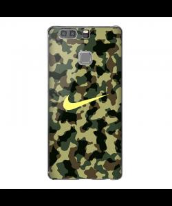 Camo Nike - Huawei P10 Lite Carcasa Transparenta Silicon