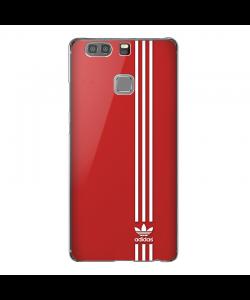 Red Adidas - Huawei P9 Plus Carcasa Transparenta Silicon
