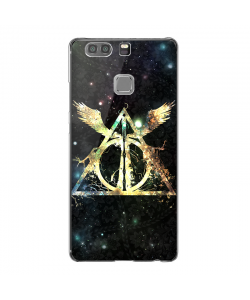 Deathly Hallows - Huawei P9 Carcasa Transparenta Silicon