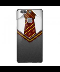 Harry Potter Tie - Huawei P9 Plus Carcasa Transparenta Silicon