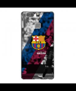 FC Barcelona 2 - Huawei P9 Plus Carcasa Transparenta Silicon