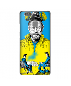 Breaking Bad III - Huawei P9 Carcasa Transparenta Silicon