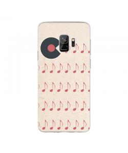 Hungry Vinyls - Samsung Galaxy S9 Carcasa Transparenta Silicon