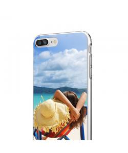 Personalizare - iPhone 7 Plus / iPhone 8 Plus Carcasa Transparenta Silicon