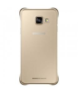 Husa Samsung Transparent + Auriu - Samsung Galaxy A3 (2016)