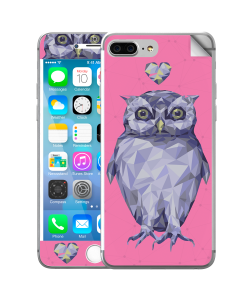 I Love Owls - iPhone 7 Plus Skin