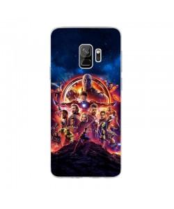 Infinity War Avengers - Samsung Galaxy S9 Carcasa Transparenta Silicon