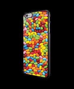 Jellybeans - iPhone 6/6S Carcasa Neagra TPU