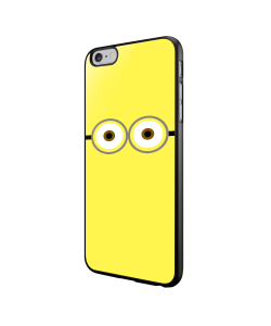 Minion Eyes - iPhone 6/6S Carcasa Neagra TPU