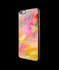 Colored Paper - iPhone 6/6S Carcasa Neagra TPU