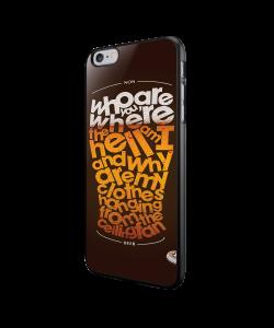 Beer State of Mind - iPhone 6/6S Carcasa Neagra TPU