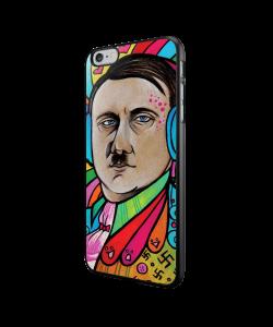 Hitler Meets Colors - iPhone 6/6S Carcasa Neagra TPU