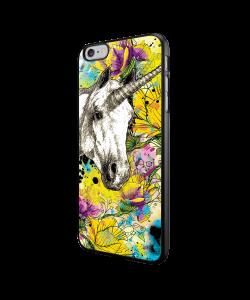 Unicorns and Fantasies - iPhone 6/6S Carcasa Neagra TPU
