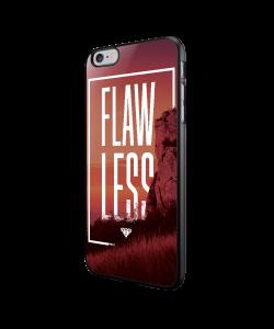 Flawless - iPhone 6/6S Carcasa Neagra TPU