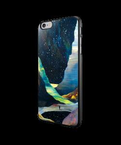 Canyon - iPhone 6/6S Carcasa Neagra TPU