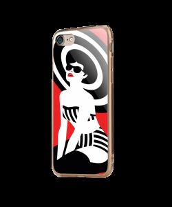 En Vogue - iPhone 7 / iPhone 8 Carcasa Transparenta Silicon