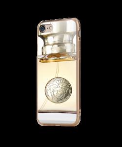 Versace Perfume - iPhone 7 / iPhone 8 Carcasa Transparenta Silicon
