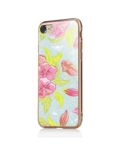 Vintage Blossom - iPhone 7 / iPhone 8 Carcasa Transparenta Silicon