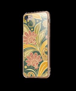 Floral Shapes - iPhone 7 / iPhone 8 Carcasa Transparenta Silicon