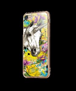Unicorns and Fantasies - iPhone 7 / iPhone 8 Carcasa Transparenta Silicon