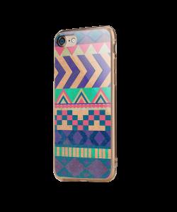 Tribal Pastel - iPhone 7 / iPhone 8 Carcasa Transparenta Silicon