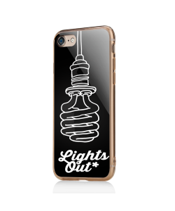 Lights Out - iPhone 7 / iPhone 8 Carcasa Transparenta Silicon