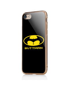 Buttman - iPhone 7 / iPhone 8 Carcasa Transparenta Silicon