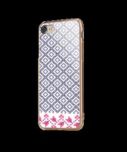 Quatrefoil - iPhone 7 / iPhone 8 Carcasa Transparenta Silicon