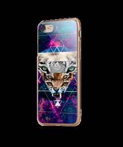 Tiger Swag - iPhone 7 / iPhone 8 Carcasa Transparenta Silicon