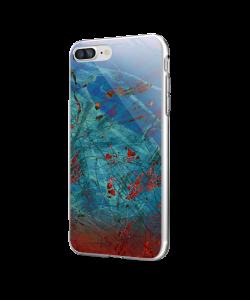 Metallic Scratch - iPhone 7 Plus / iPhone 8 Plus Carcasa Transparenta Silicon