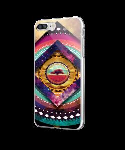 Nature Within - iPhone 7 Plus / iPhone 8 Plus Carcasa Transparenta Silicon