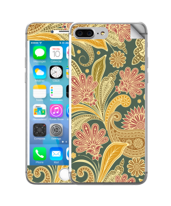 Floral Shapes - iPhone 7 Plus Skin