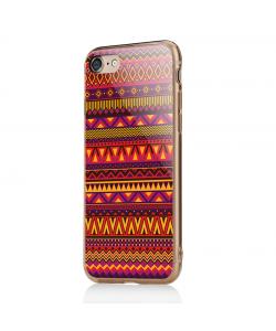 Aztec Summer - iPhone 7 / iPhone 8 Carcasa Transparenta Silicon