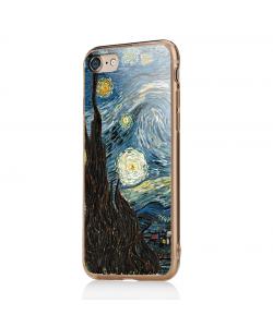 Van Gogh - Starry Night - iPhone 7 / iPhone 8 Carcasa Transparenta Silicon