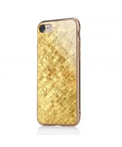 Squares - iPhone 7 / iPhone 8 Carcasa Transparenta Silicon