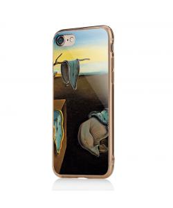 Salvador Dali - The Persistence of Memory - iPhone 7 / iPhone 8 Carcasa Transparenta Silicon
